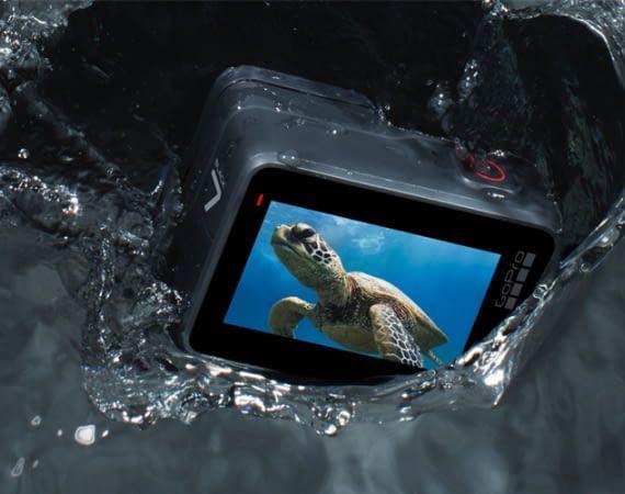 Diese  Actioncam ist besonders robust und wasserdicht bis 10 Meter