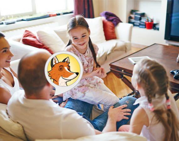 Dieser Skill verspricht spaßige Quiz Fragen zur Schule der Magischen Tiere