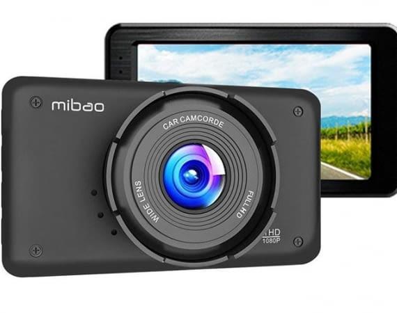 Die Mibao Dashcam Full HD 1080P verfügt über ein großzügiges 3-Zoll-Display
