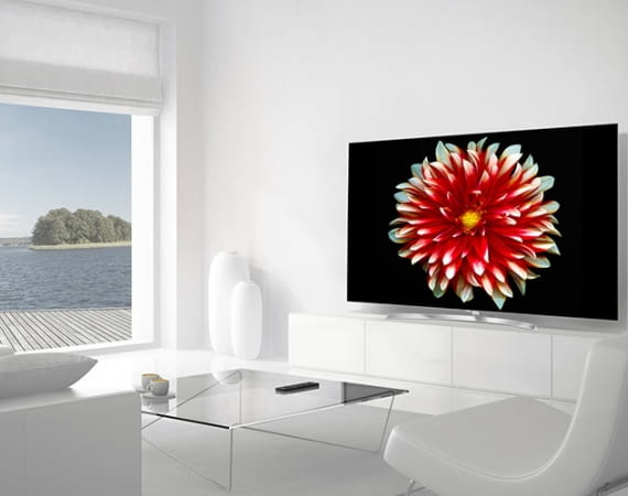 65 Zoll TV LG OLED 65B7D überzeugt mit sehr guter Bildqualität