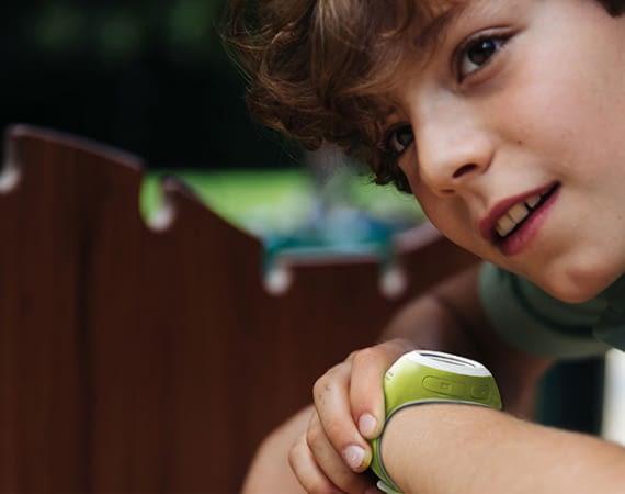 Telefonieren und Tracken – das Prinzip der Pingonaut Kidswatch ist einfach