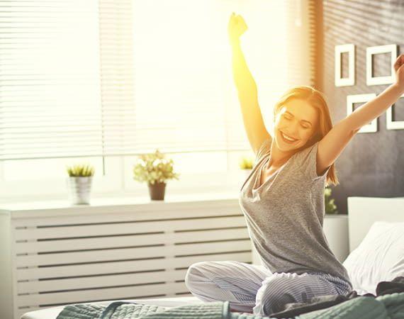 Guter Schlaf ist wichtig für das Wohlbefinden und Leistungsvermögen