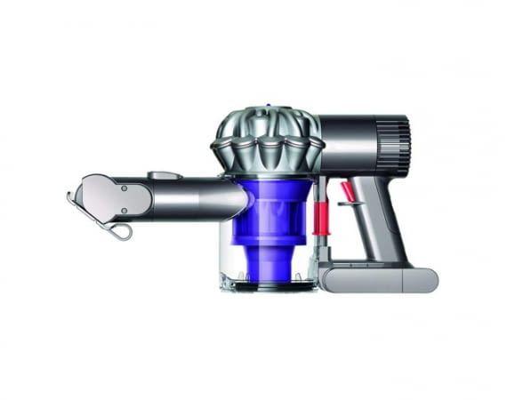 Dyson V6 Trigger wird inklusive motorisierter Mini-Elektrobürste, sowie Kombi- und Fugendüse geliefert