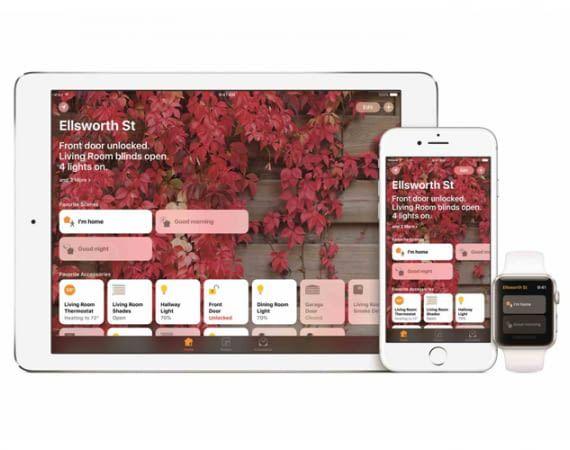 Apple HomeKit: mit der Home-App lassen sich Geräte mit dem iPad, dem iPhone oder der Apple Watch zentral steuern