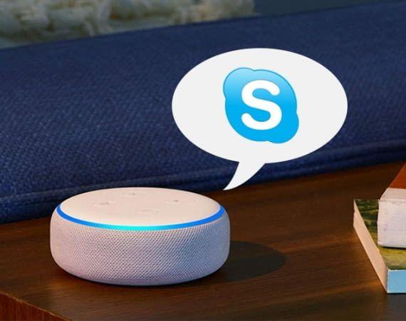 In Verbindung mit Skype kann Alexa auch Freunde ohne eigenen Echo anrufen