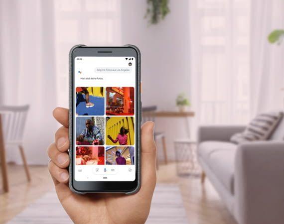 Die Sprachsoftware Google Assistant und ist u.a. auf den Pixel Smartphones installiert