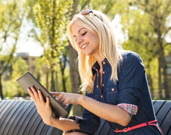 Tablets mit Tarif sind hauptsächlich zur Nutzung außerhalb des eignen WLAN-Heimnetzwerkes gedacht