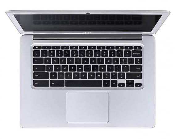Das Acer Chromebook 14 läuft mit Googles ChromeOS und bietet viel Mobilität für wenig Geld