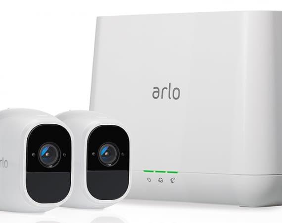 Netgear Arlo Pro2 Outdoor-Überwachungskamera mit HD-Auflösung und Alexa-Sprachunterstützung