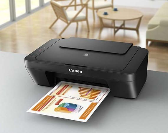 Canon PIXMA MG2555S ist ein günstiger 3in1 Multifnktionsdrucker fürs Drucken, Kopieren und Scannen