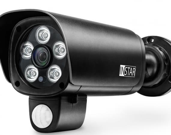 Die Outdoor-Überwachungskamera IN-9008 im Test-Überblick