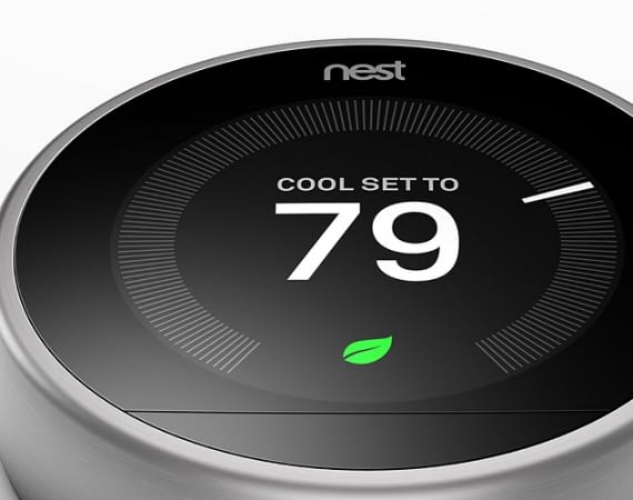 Nest Thermostat - Steuerung des Smart Homes
