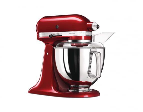 Die KitchenAid Artisan bietet genügend Fassungsvermögen für eine ganze Familie