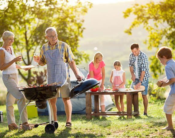 Mit dem TURATA Funk Grillthermometer können sich Köche getrost vom Grill abwenden