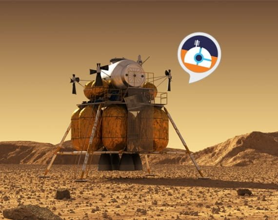 Der Marsstation Alexa Skill gehört zu den besten Spiele-Skills
