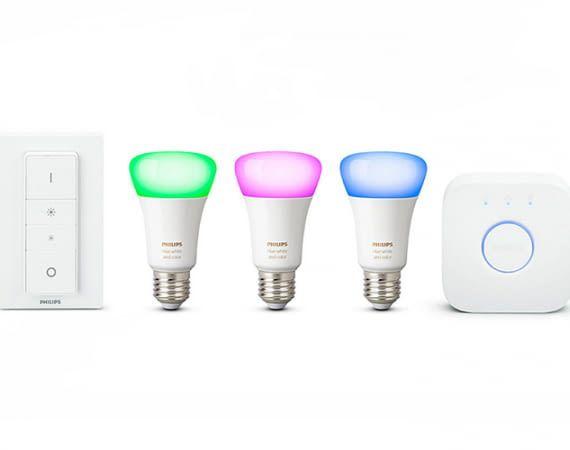 Das Philips Hue White and Color Ambiance Starter-Kit sorgt bei jeder Stimmung für das richtige Licht