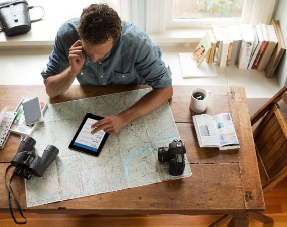 Mit einem Amazon Fire Tablet kommt man schneller ans Ziel
