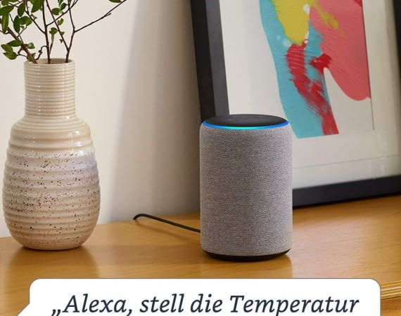 Über Sprachansage oder per App können sich Alexa-Nutzer über die Temperatur informieren