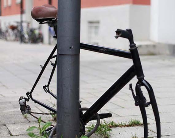 Die mutwillige Zerstörung von Fahrradkomponenten ist für Fahrradbesitzer ärgerlich und teuer