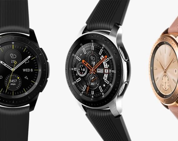 Die Samsung Galaxy Watch gibt es als Bluetooth-Version oder mit LTE
