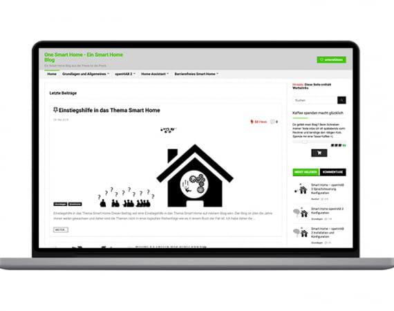 OneSmartHome - ein Smart Home Blog aus der Praxis für die Praxis