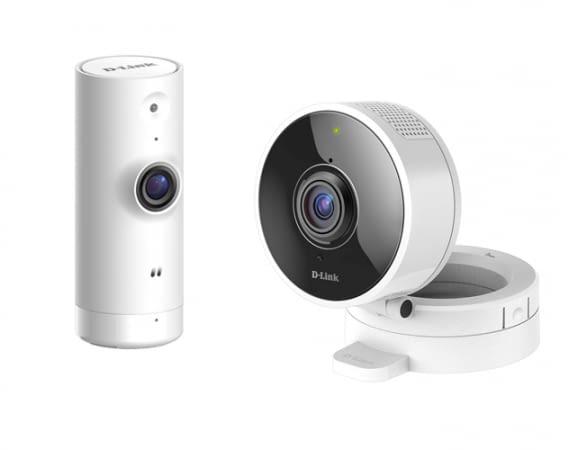 Beide Kameras sind über den mydlink Home Skill Alexa kompatibel