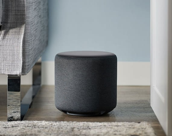 Amazon Echo Sub bringt satte Bässe in eine Amazon Echo-Umgebung