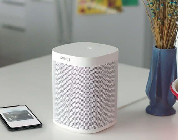 Sonos One Smart Speaker unterstützt Apples AirPlay 2-Standard