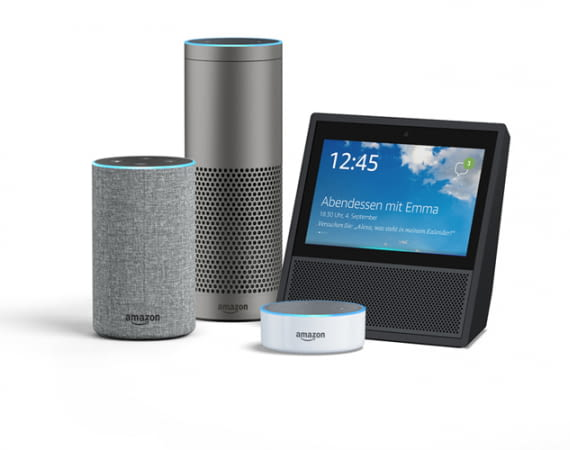 Alle Amazon Echo-Lautsprecher sind Multiroom-fähig