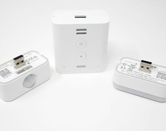 Echo Flex kann mit verschiedenem Zubehör erweitert werden. Beispielsweise mit einem Bewegungssensor oder Nachtlicht