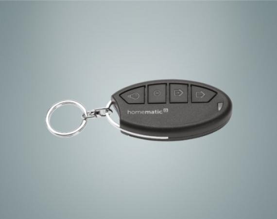 HomeMatic IP Schlüsselbund Fernbedienung für Alarmfunktionen und Beleuchtung