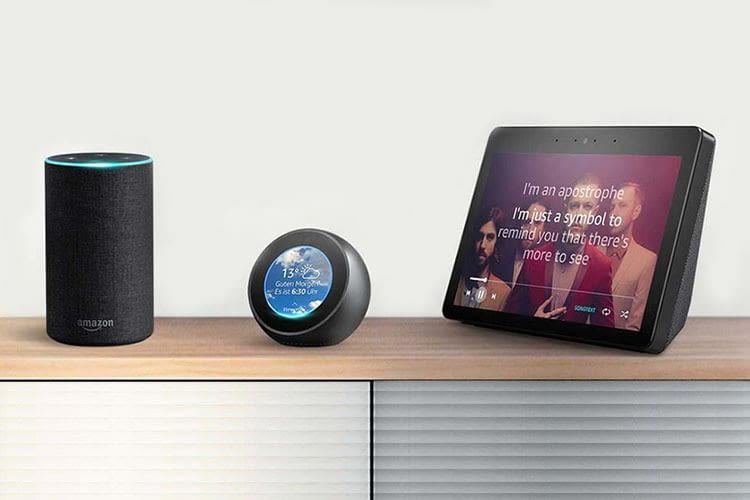 Amazon bietet Amazon Echo, Spot, Dot und Show günstiger an