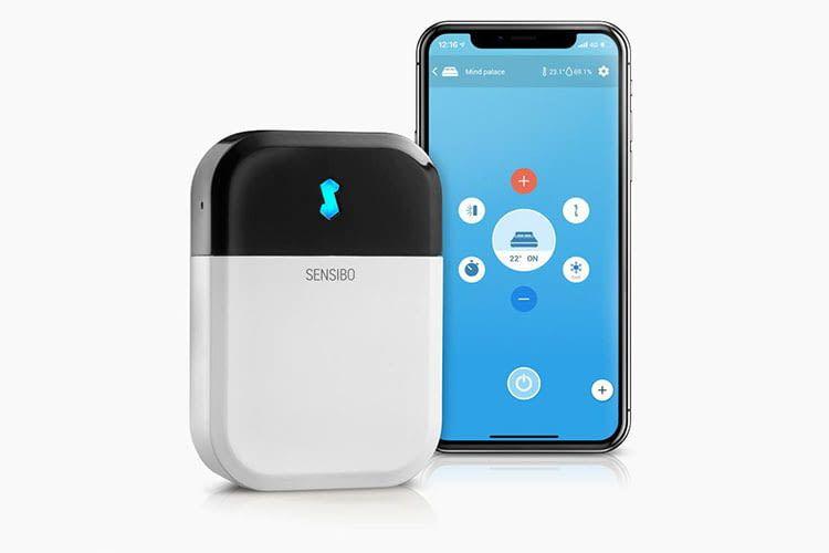 Dank Sensibo Sky können Nutzer ihre Klimaanlage anstelle mit der Fernbedienung einfach via App steuern