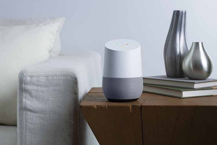 Google Home wird über den Google Assistant sprachgesteuert