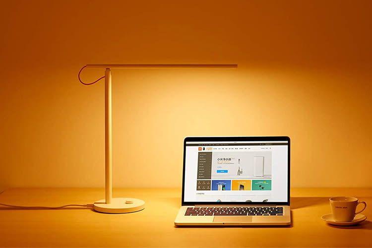 Die smarte Schreibtischlampe von Xiaomi beherrscht vier Leuchtmodi