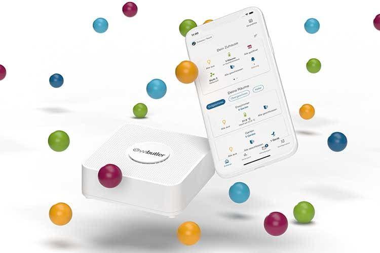Smart Home Zentralen wie das wibutler Smart Home System unterstützen mehrere Funkstandards gleichzeitig
