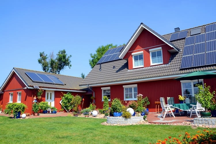 Dank Photovoltaik autark und unabhängig sein
