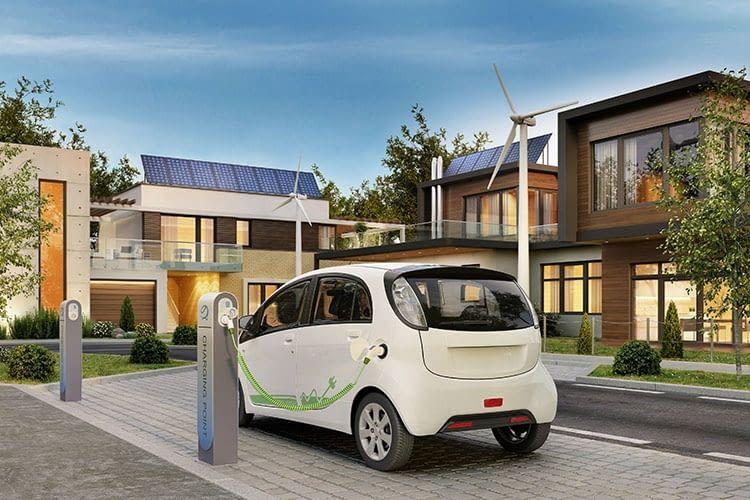Beim Vehicle-to-Home (V2H)-Verfahren speist das E-Auto Strom ins hauseigene Energiesystem