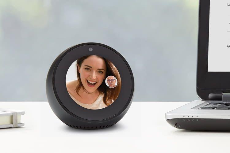 Amazon Echo Spot mit Videotelefonie und Weckerfunktion