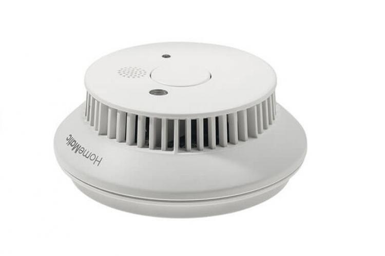 Abbildung des HomeMatic Funk-Rauchmelder HM-Sec-SD-2 mit 10-jahres Batterie