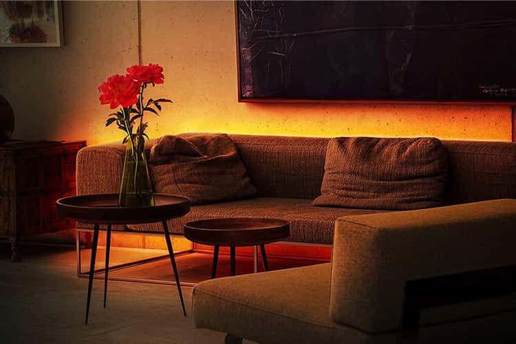 Licht ist wichtig für die Stimmung – mit Eve Light Strip hat man immer die passende Beleuchtung