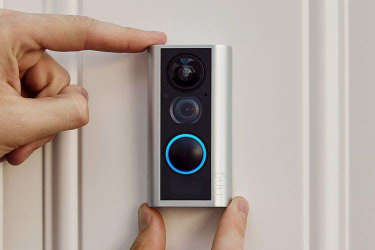 Ring Door View Bell - intelligente Videotürklingel, die den Türspion ersetzt
