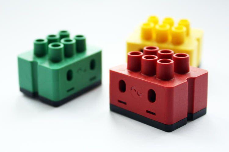 digitalSTROM Lüsterklemmen im Legostein Design
