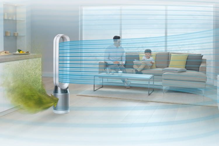 Dyson Pure Cool Link überzeugte im Luftreiniger Test-Vergleich durch App-Steuerung