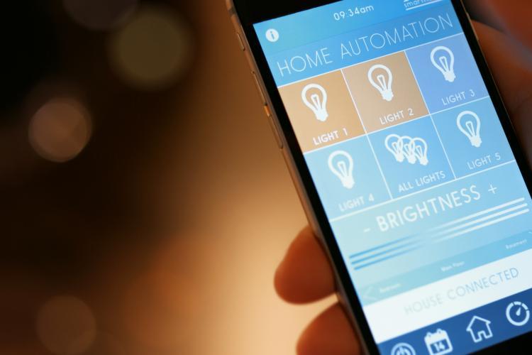 Smarte Steuerung der Beleuchtung via App