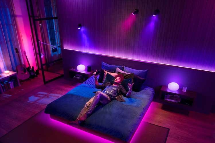 Wer Philips Hue mit Musik verbindet, sorgt für ein tolles Lichterspiel