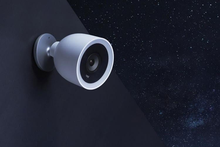 Nest Cam IQ Outdoor bietet hocheffiziente Nachtsicht, kostet aber auch dementsprechend viel