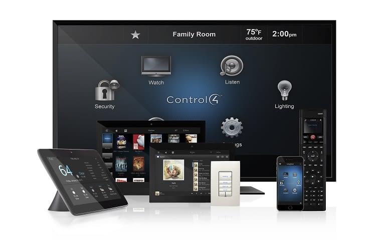 Control4 ist ein umfassendes Smart Home System mit vielen Komponenten