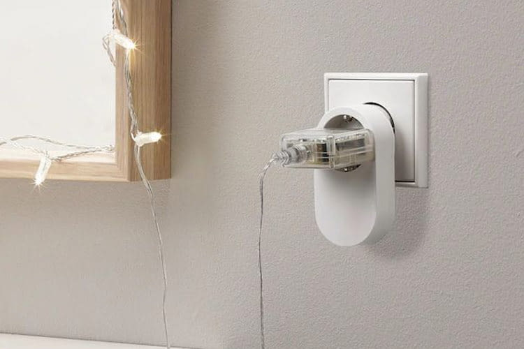 Die Trådfri-Steckdose ist mit dem beliebten Smart Home Funkstandard ZigBee kompatibel