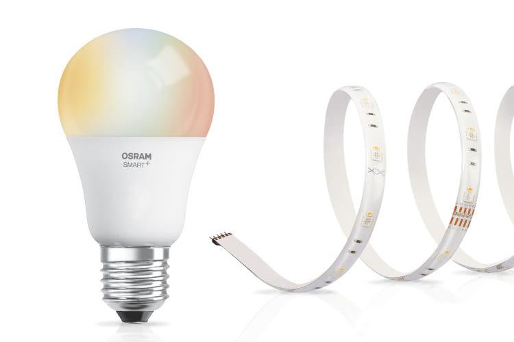 Mit LEDVANCE Smart+ bringt OSRAM zwei neue HomeKit-kompatible Leuchtmittel auf den Markt